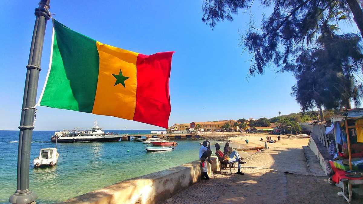 Die Sklaveninsel Ile de Goree vor den Toren von Dakar