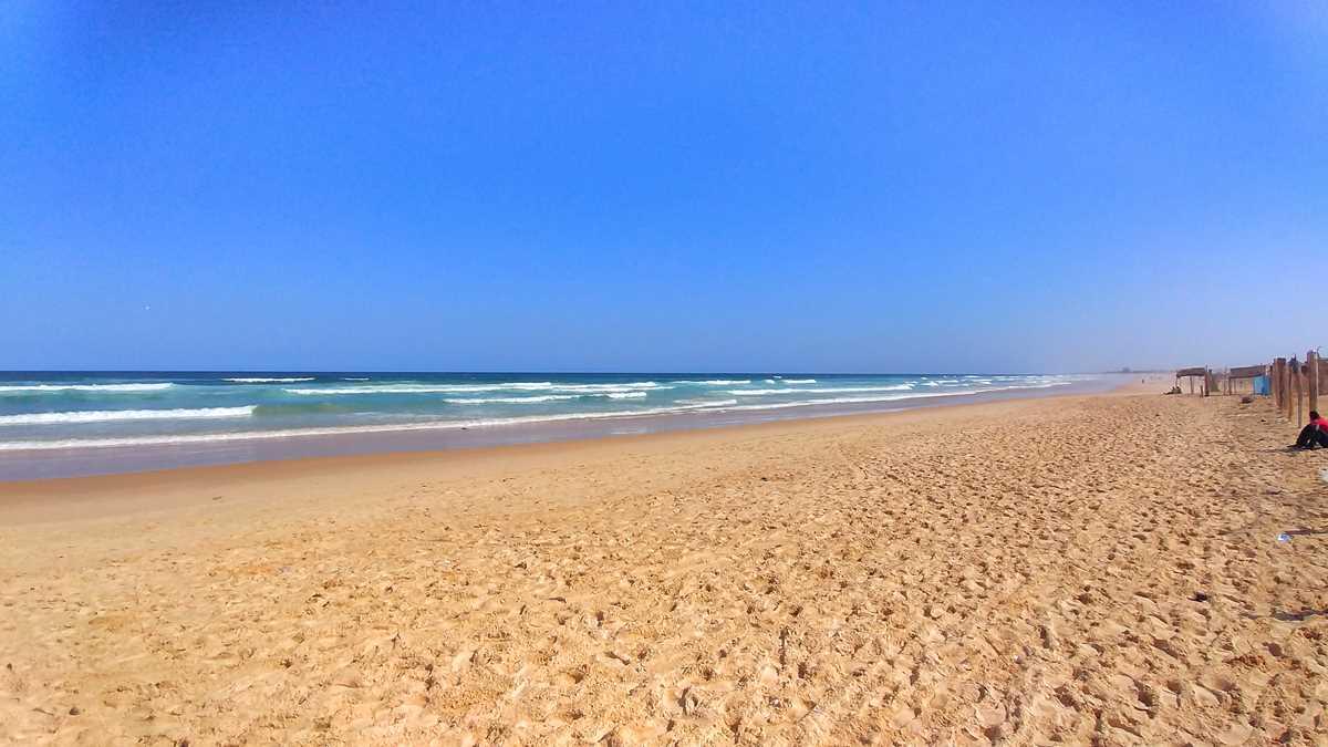 Der Strand von Yoff im Norden von Dakar