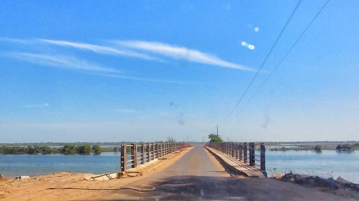 Fahrt von Seleti an der Grenze zu Gambia nach Ziguinchor