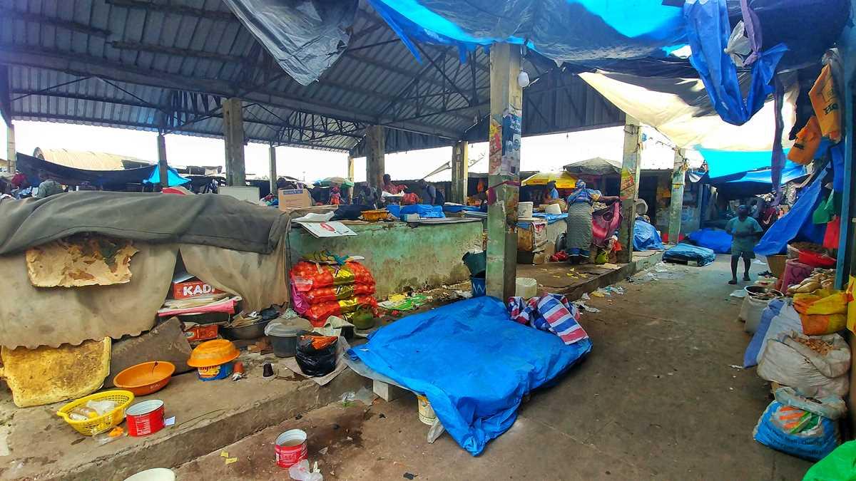 Der belebte Markt von Ziguinchor