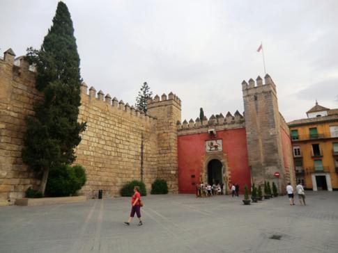 Das Real Alcazar, direkt neben der Kathedrale