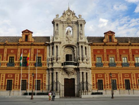 Der Palast des andalusischen Königs