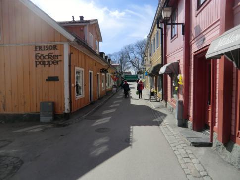 Die Altstadt von Sigtuna in der Stora Gatan