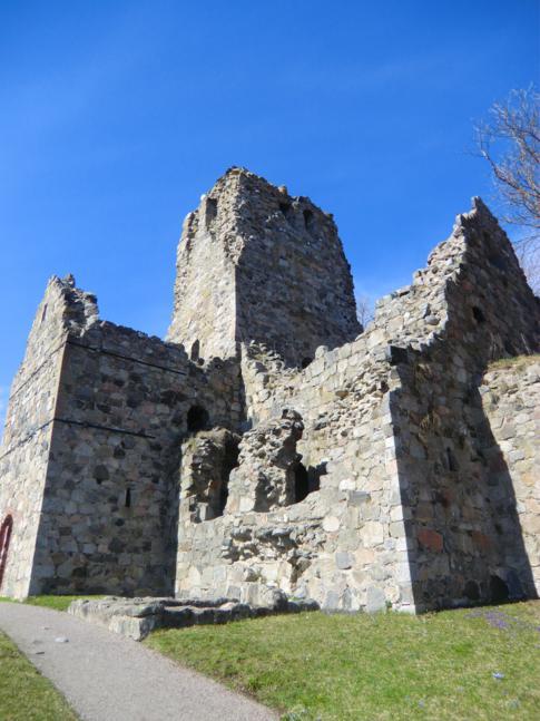 St. Olof, eine der Kirchenruinen in Sigtuna