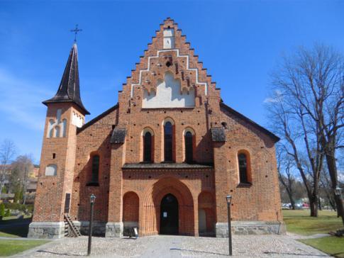 Eine der erhaltenen Kirchen von Sigtuna, die Marienkirche