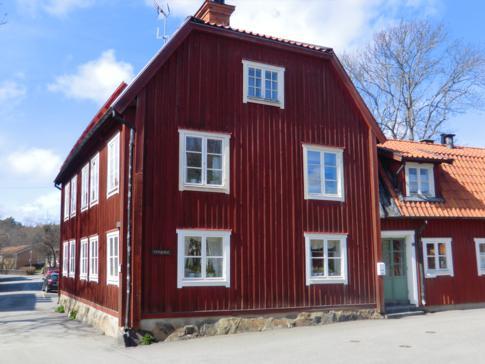 Ein typisches Schweden-Haus in Sigtuna