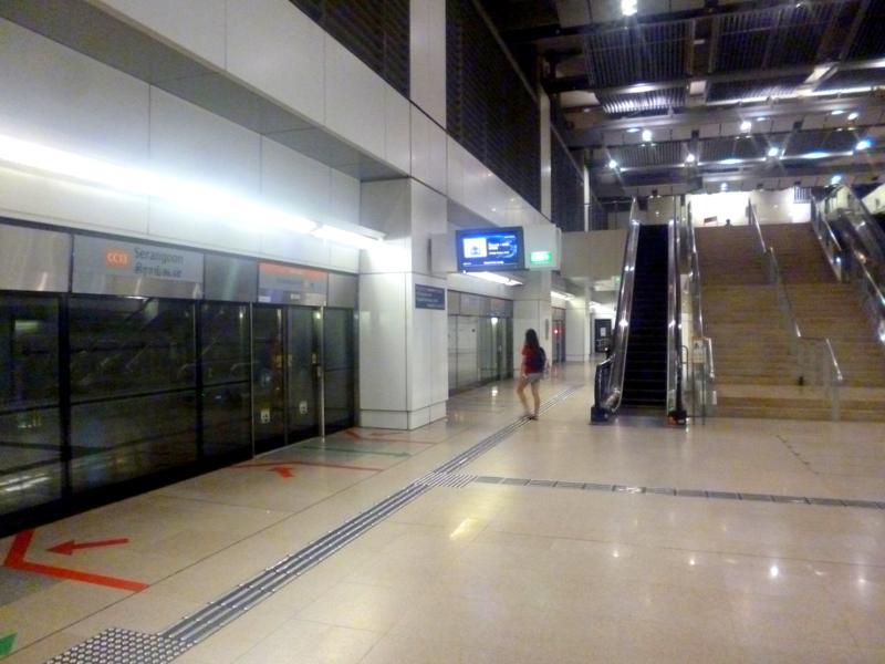 Die Metro von Singapur, eine der modernsten U-Bahnen der Welt