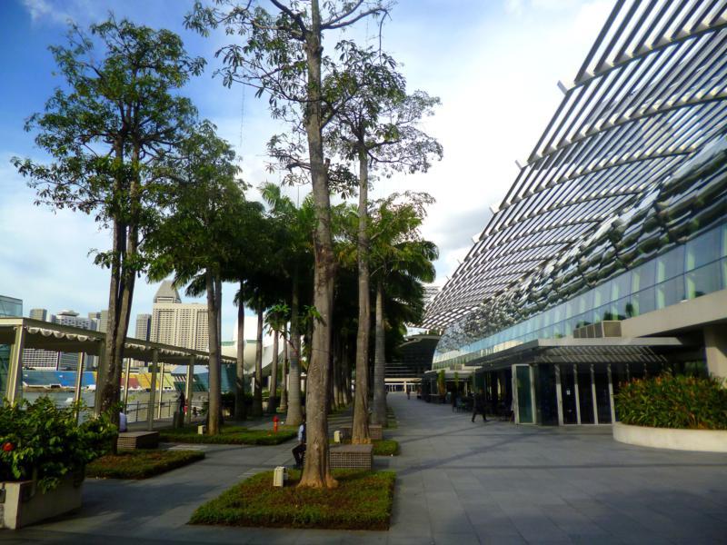 Das Marina Bay Einkaufszentrum