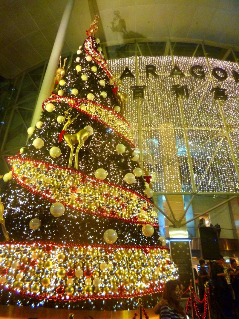 Die Orchard Road - berühmte Einkaufsstraße in der Stadt