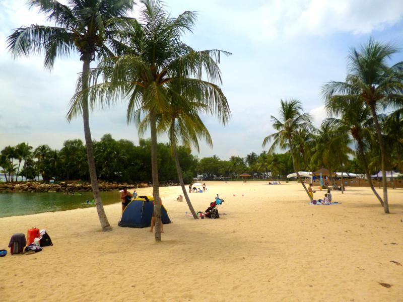 Sentosa Island, die vorgelagerte Entspannungsinsel in Singapur