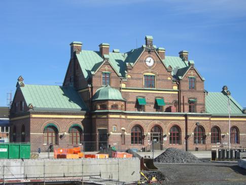 Der Bahnhof von Umea