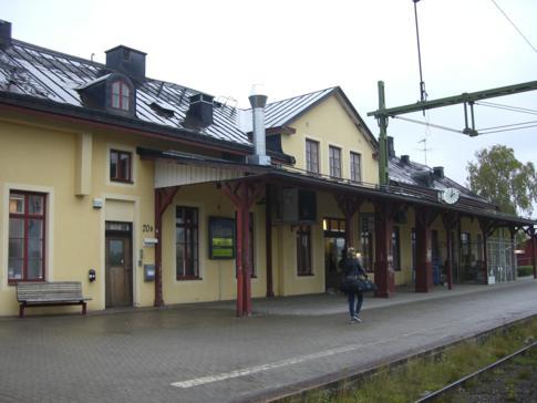 Der Bahnhof von Lulea