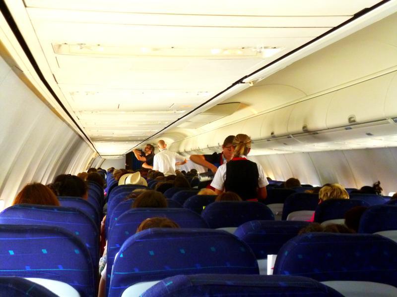 Economy Class auf der Mittelstrecke bei Smartwings