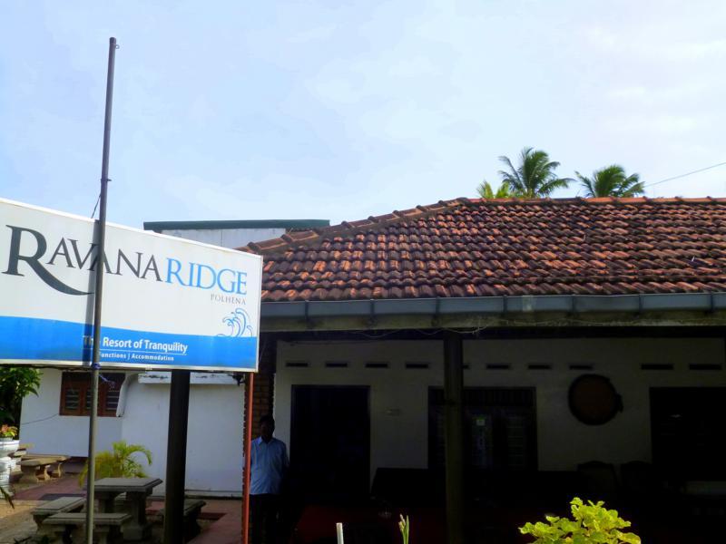 Das Ravana Ridge Guesthouse in Polhena zwischen Mirissa und Matara