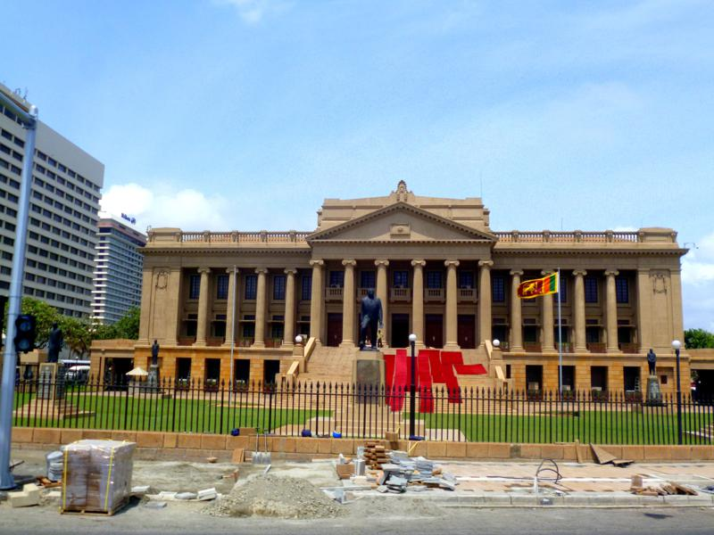 Das Parlament von Sri Lanka südlich der Altstadt von Colombo