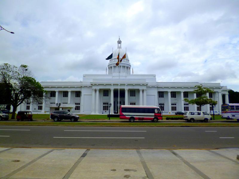 Das Rathaus von Colombo