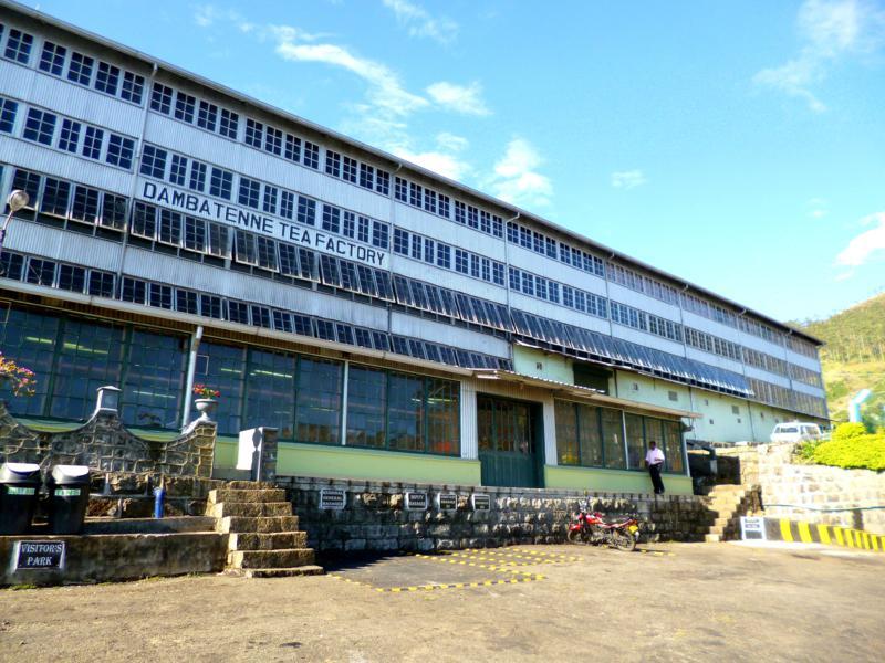 Die Dambatenne Tea Factory, gegründet von Sir Thomas Lipton