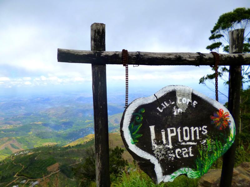 Der Liptons Seat, Endpunkt einer Wanderung durch atemberaubende Teeplantagen