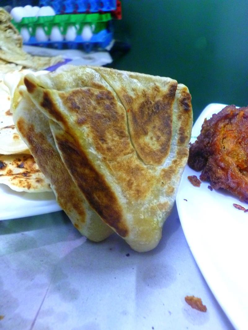 Rotti, ein klassisches Short Eat in Sri Lanka
