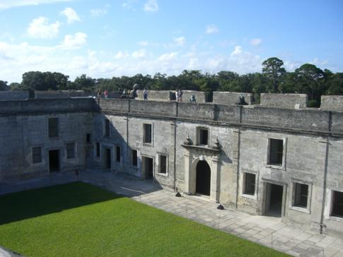 Castillo de San Marcos: National Monument in St Augustine