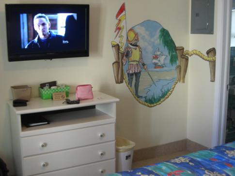 Zimmerausstattung im Magic Beach Motel
