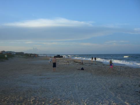 Der Strand im Stadtteil Villano von St. Augustine