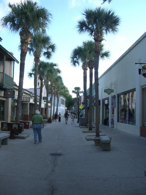 Die St. George Street in St. Augustine