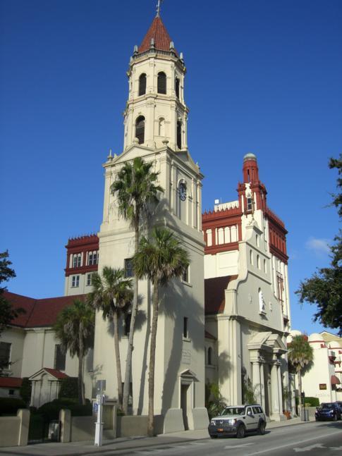 Die Kathedrale von St. Augustine