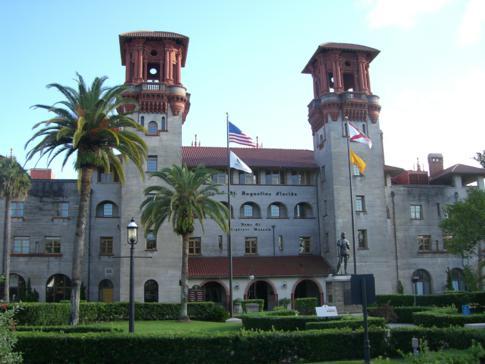 Das Lightner Museum und ehemalige Alcatraz Hotel in St. Augustine