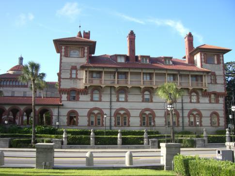 Das Flagler College und frühere Ponce de Leon Hotel