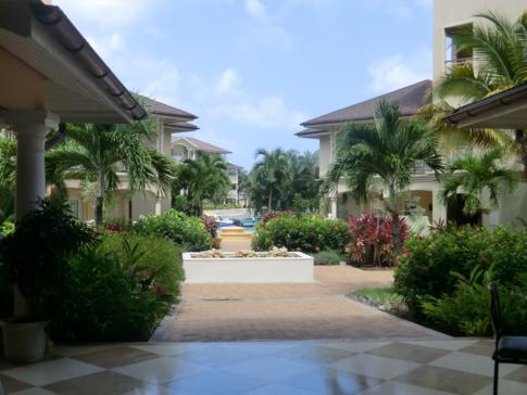 Die top gepflegte Anlage des Landings Resort in St. Lucia