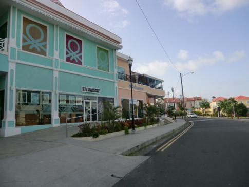 Das touristische Zentrum von St. Lucia, das Rodney Bay Village