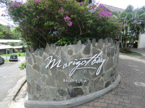 Das Marigot Bay Hotel in der gleichnamigen Bucht von St. Lucia