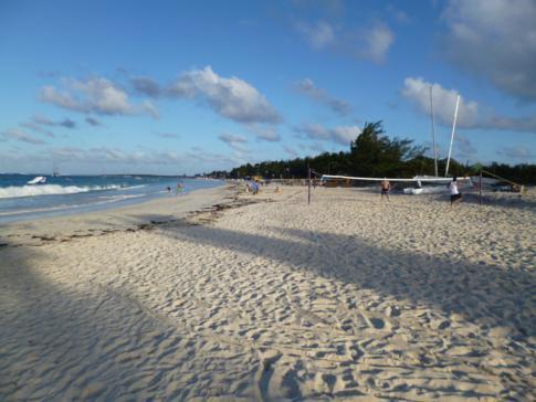 Der Orient Bay Beach im Nordosten von St. Martin