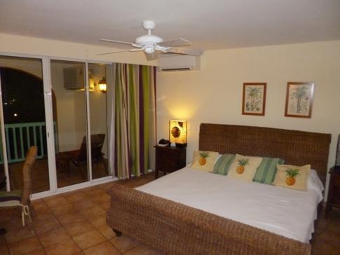 Meerblick-Doppelzimmer im Alamanda Resort, St. Martin