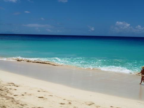 Der Maho Beach in St. Martin - mal ganz ohne Flugzeuge