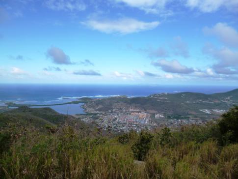 Der höchste Punkt auf St. Martin: der Pic Paradis