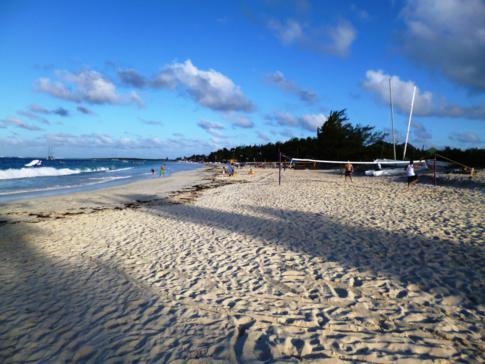 Der berühmte Orient Bay Beach