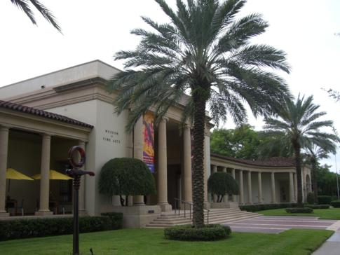 Das Museum of Fine Arts in St. Petersburg, Florida