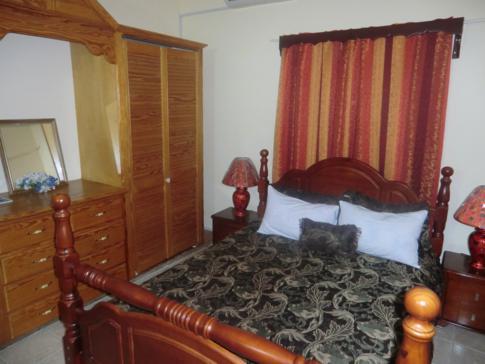 Ein Doppelzimmer im Rich View Hotel in St. Vincent