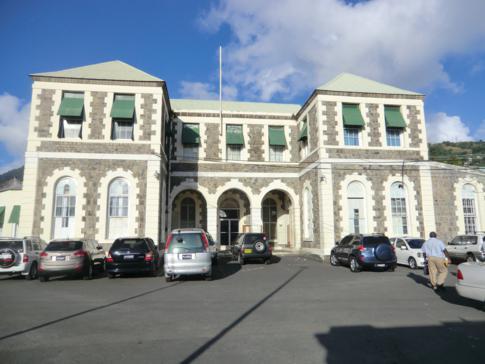 Das Court House von St. Vincent in der Hauptstadt Kingstown