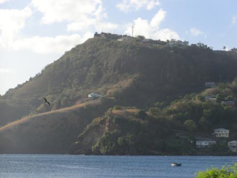 Das Fort Charlotte wacht über die Hauptstadt Kingstown