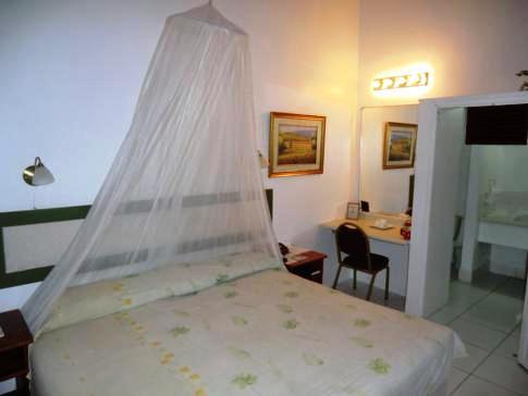 Mein Standard-Doppelzimmer im Beachcombers Hotel