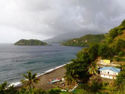 Schöne Szenerie an der Petit Bordel Bay