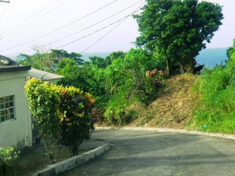 Das andere Ende von St. Vincent: Straße im abgelegenen Fancy