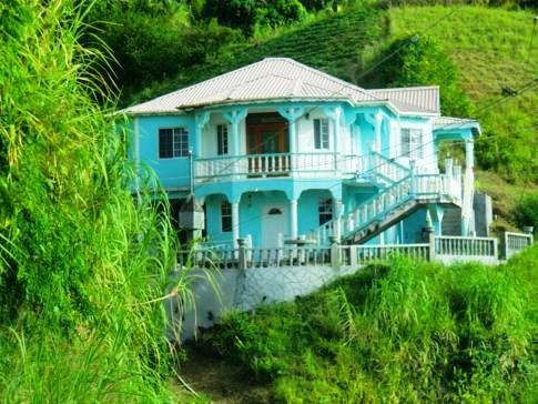 Wohnhaus im Norden von St. Vincent