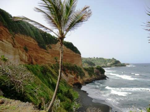 Die ebenfalls wilde Ostküste von St. Vincent