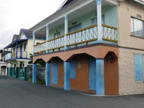 Das kleine Regionalzentrum Georgetown im Osten von St. Vincent