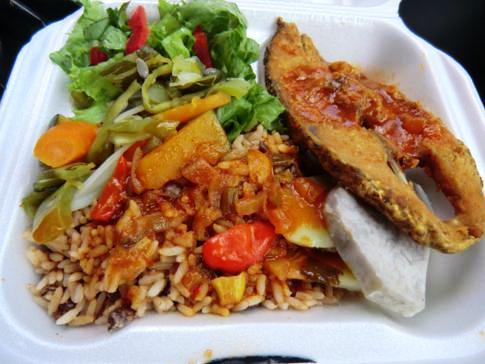 Abschließendes Mittagessen vor dem Rückflug nach Grenada