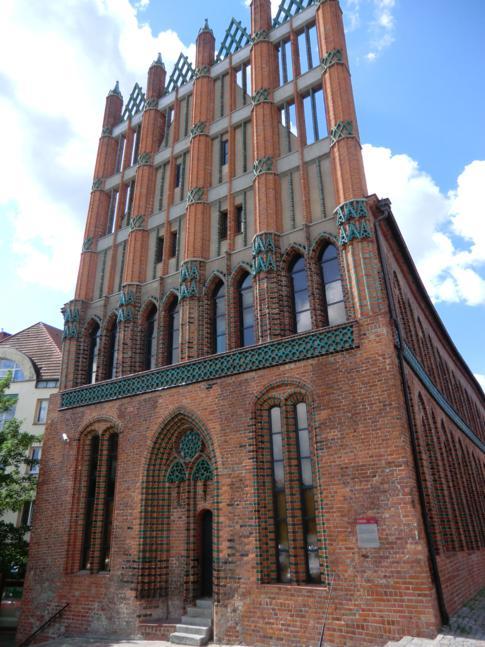 Das Alte Rathaus von Stettin